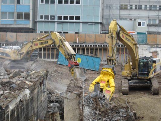 Anh Đức chuyên thi công phá dỡ công trình xây dựng cũ tại Hà Nội