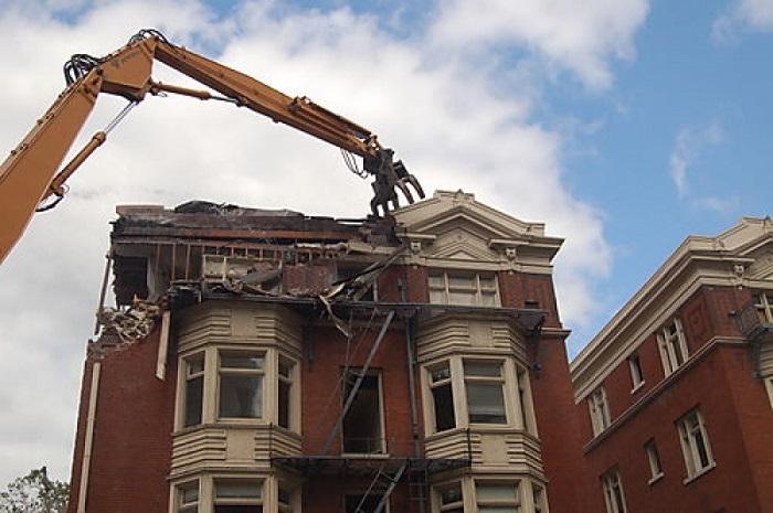 chi phí tháo dỡ công trình